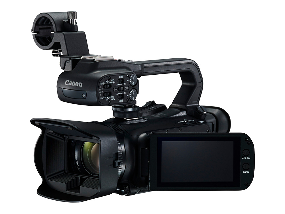 Canon Introduces XA45 4K Camcorder with HDMI and SDI Out for Streaming Setups