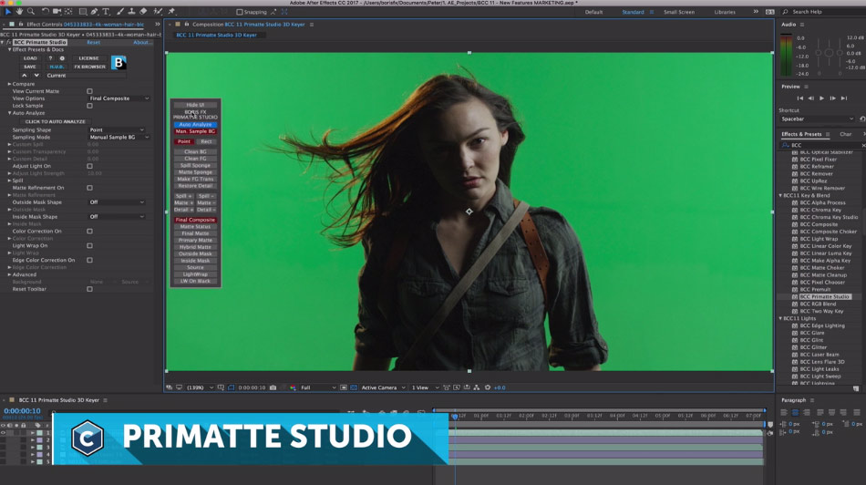 BorisFX: Sapphire 11 with Mocha Tracking and Continuum 11 with Primatte Keyer