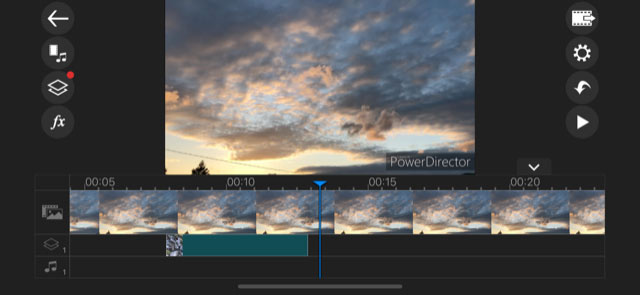 CyberLink PowerDirector iOS for mobile editing via iPad or iPhone