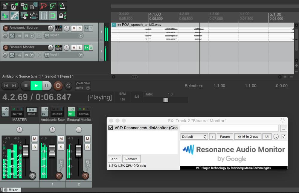 Google Resonance Audio: 3D Sound SDK for VR and AR