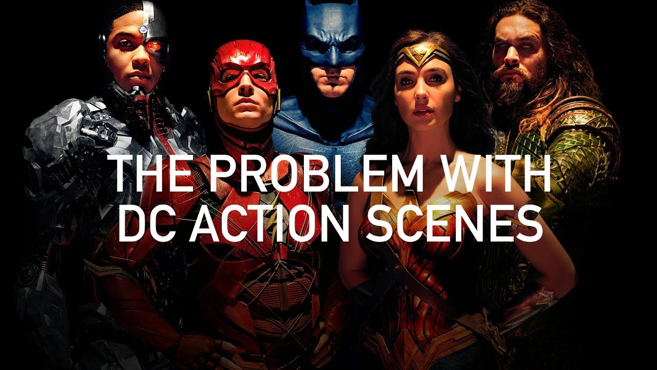 Marvel vs DC or is action in Super Hero movies boring because VFX/CGI physically incorrectly animate