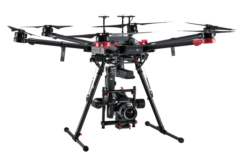 DJI and Hasselblad decent 100 megapixel drone