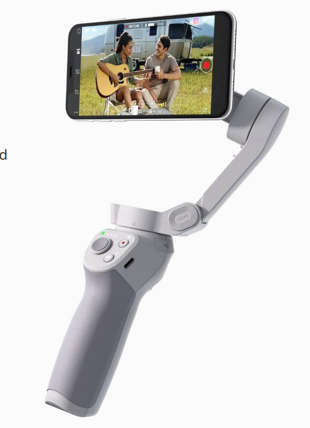 DJI OM4: New Smartphone Gimbal with simple magnetic holder