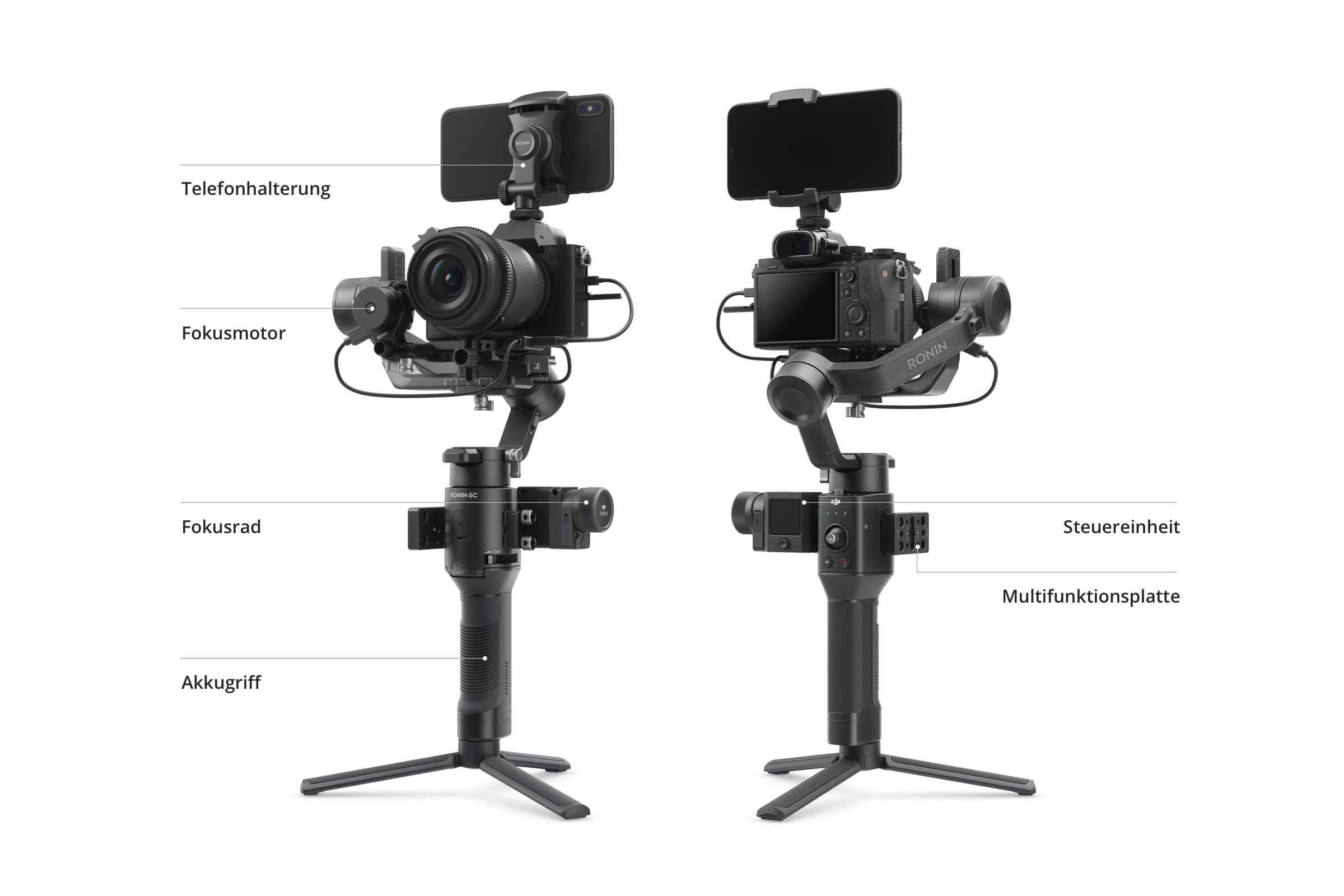 DJI introduces lightweight Ronin-SC (Compact) one-hand gimbal for mirrorless cameras up to 2 kg