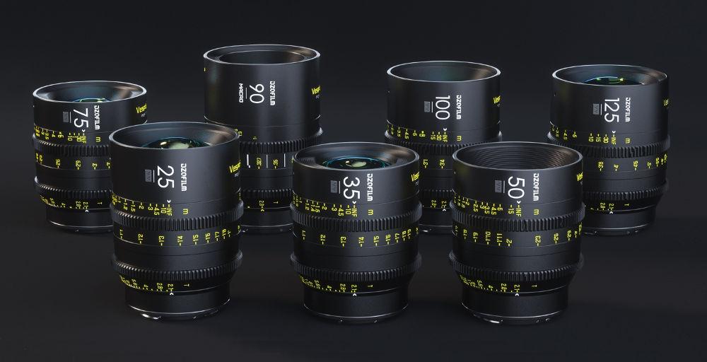 New cine prime lens series: DZOfilm Vespid