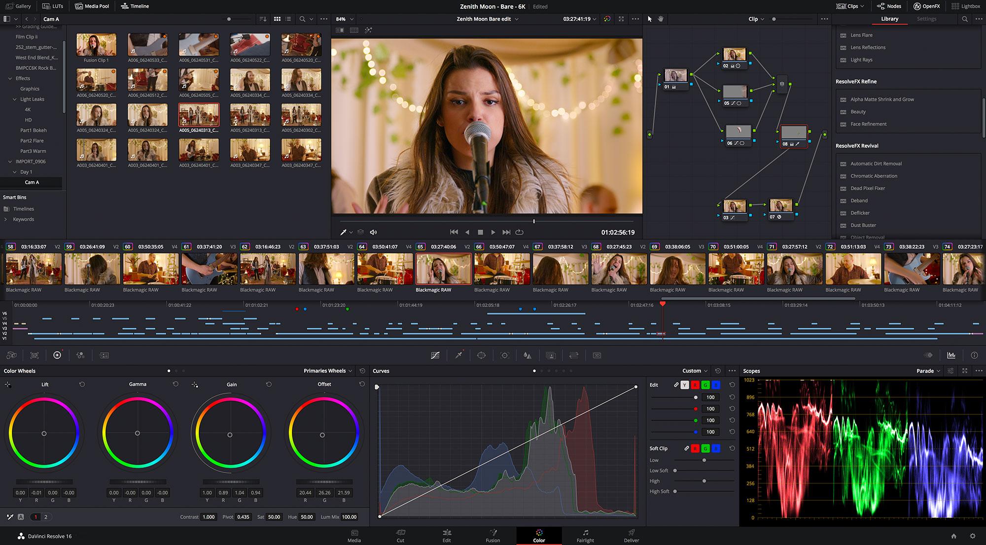 Blackmagic: Updates for DaVinci Resolve, Pocket Cinema Camera 4K/6K and Video Assist 12G