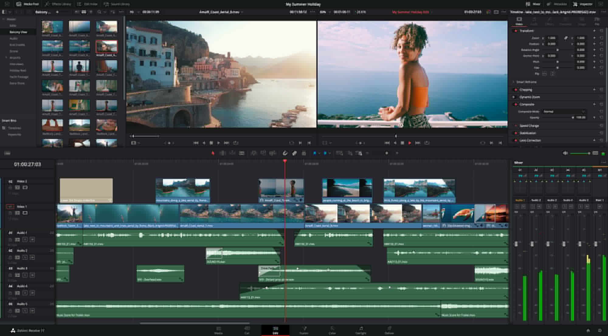 Resolve Studio 17.1 is final: Support for Apple M1 and H.265 hardware encoding and decoding