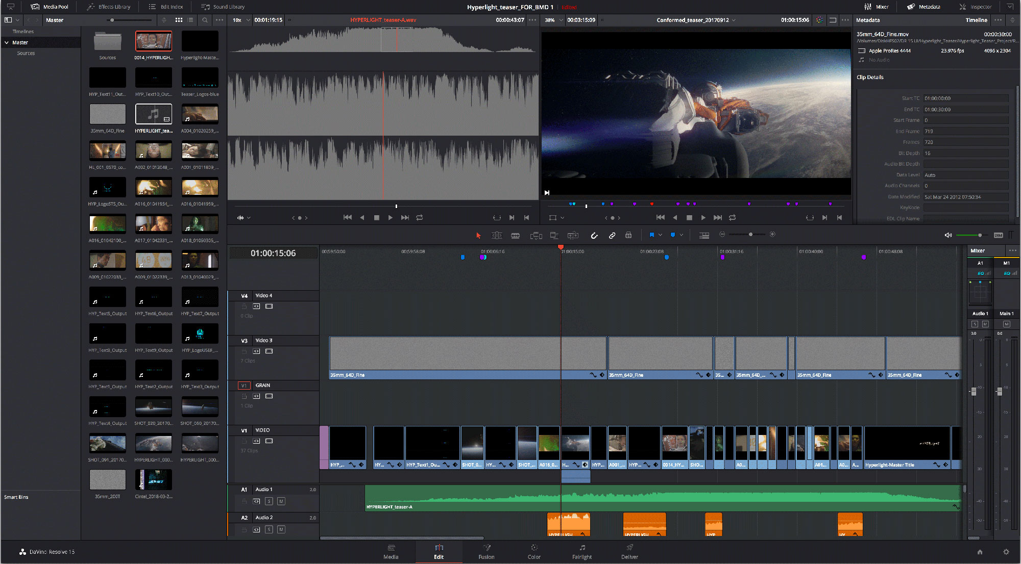 Blackmagic DaVinci Resolve Update 15.2.4 brings better H.264/H.265 encoding among other things