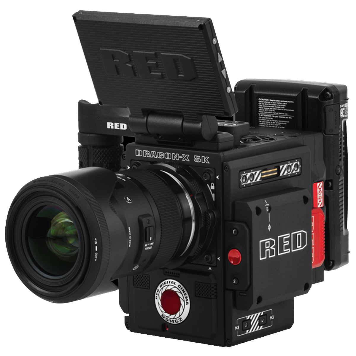 New S35 RED DRAGON-X Brain, Camera Kit and Production Module