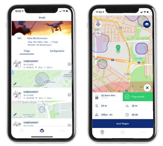 Droniq: Free app for planning drone flights under new EU regulation
