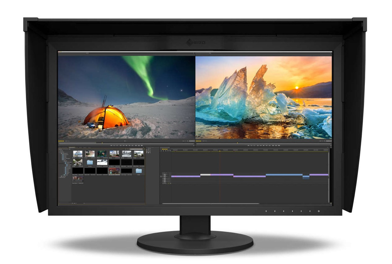 Eizo: ColorNavigator 7 and new HDR professional monitor ColorEdge CG279X with USB-C and 98% DCI-P3 /