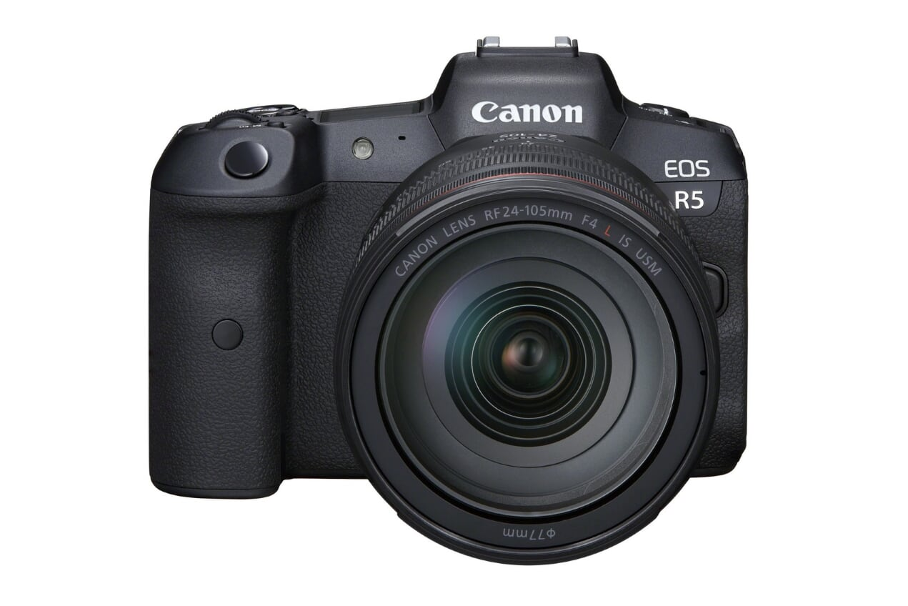Canon EOS R5 - New firmware for longer recording times
