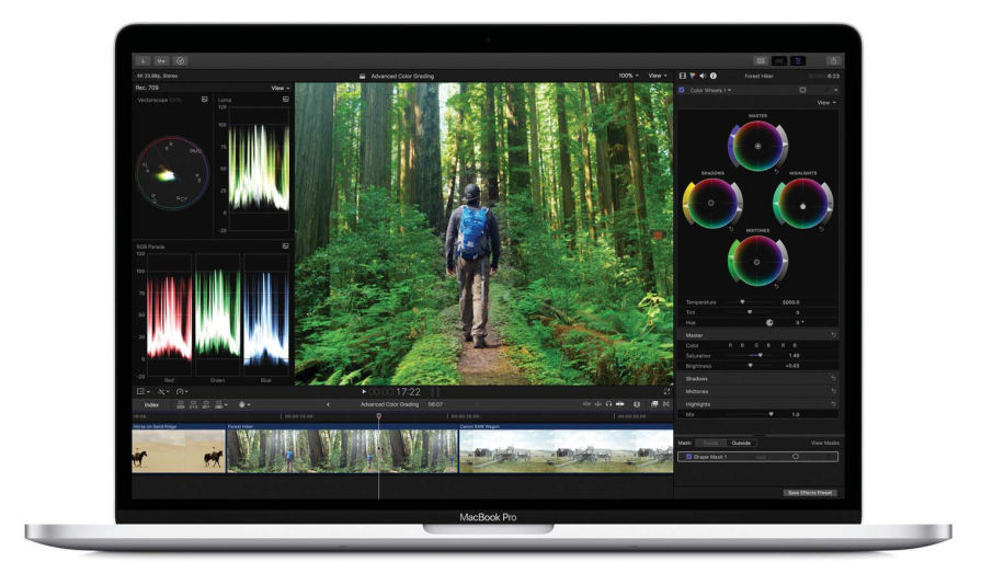 Apple Final Cut Pro 10.4 available with new Grading-Tools, HDR Support and more