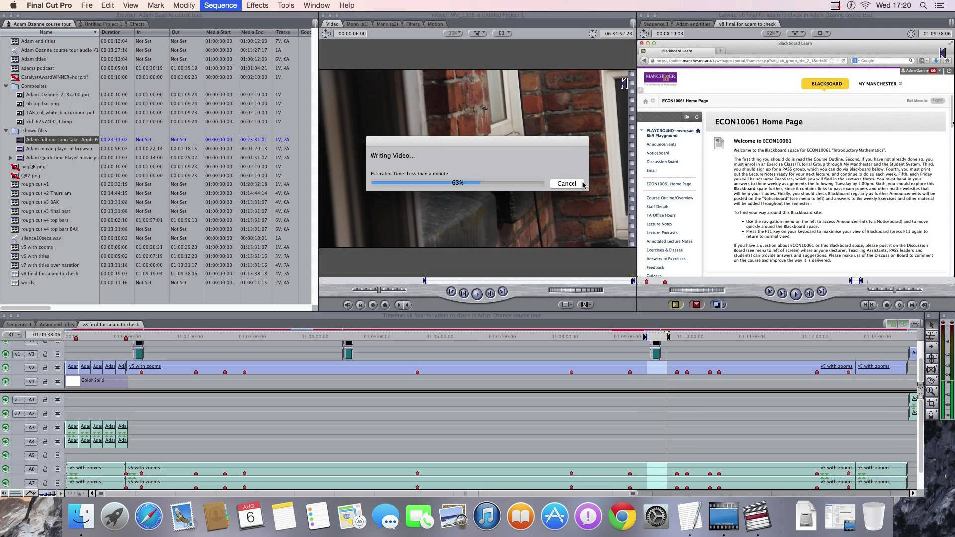 The end of Final Cut Pro 7 has come