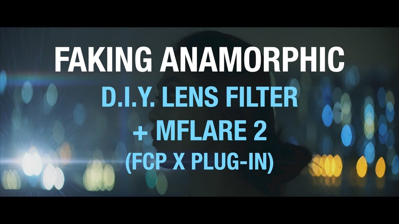Video Tutorial: Simulating anamorphic look with tape, scissors and plugin