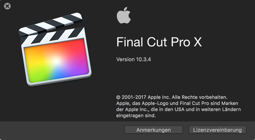 FCPX 10.4 with color wheels and curves, 8K, HEVC support, new HDR functions and much more.