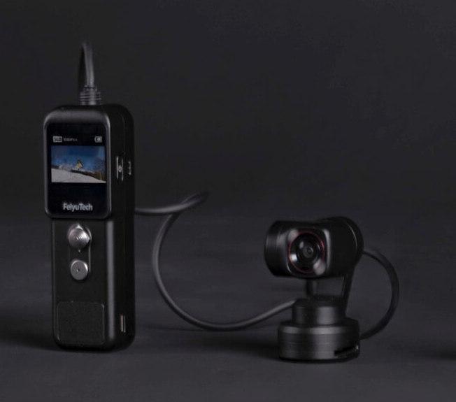 New gimbal action cams: FeiyuPocket 2 and FeiyuPocket 2S