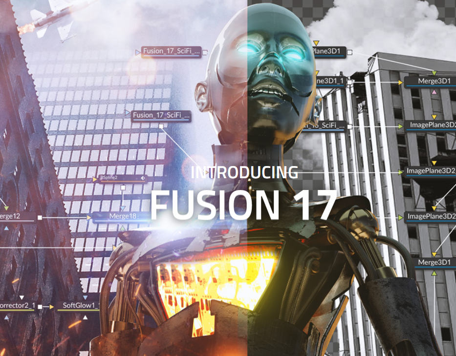 Blackmagic Fusion Studio 17 Beta 1