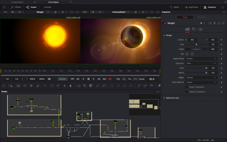 Blackmagic Fusion Studio remains Stand-Alone - New Beta Version 16 for // NAB 2019