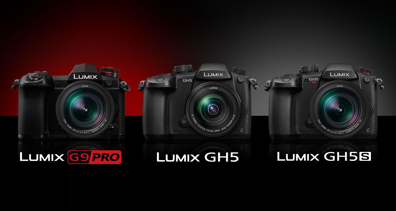 Slashcam News : Firmware updates for Panasonic GH5, GH5s and G9 on
