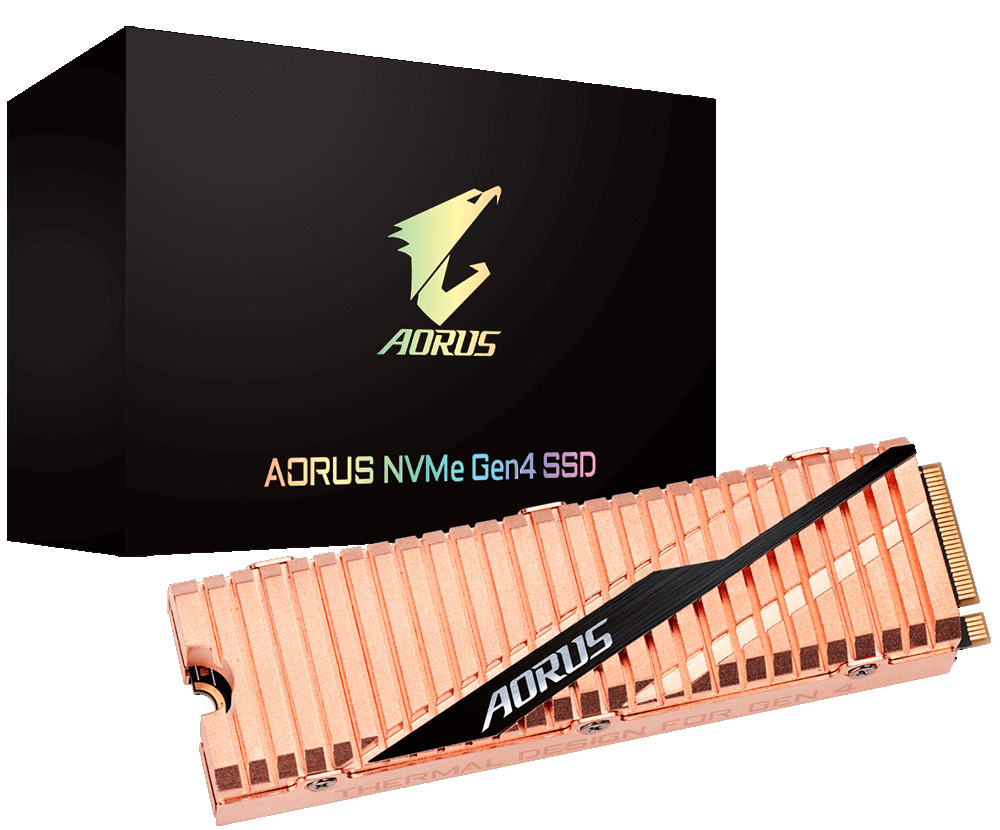 New NVMe-SSD speed record with PCIe 4.0