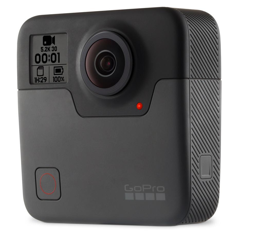 GoPro Fusion 360° camera