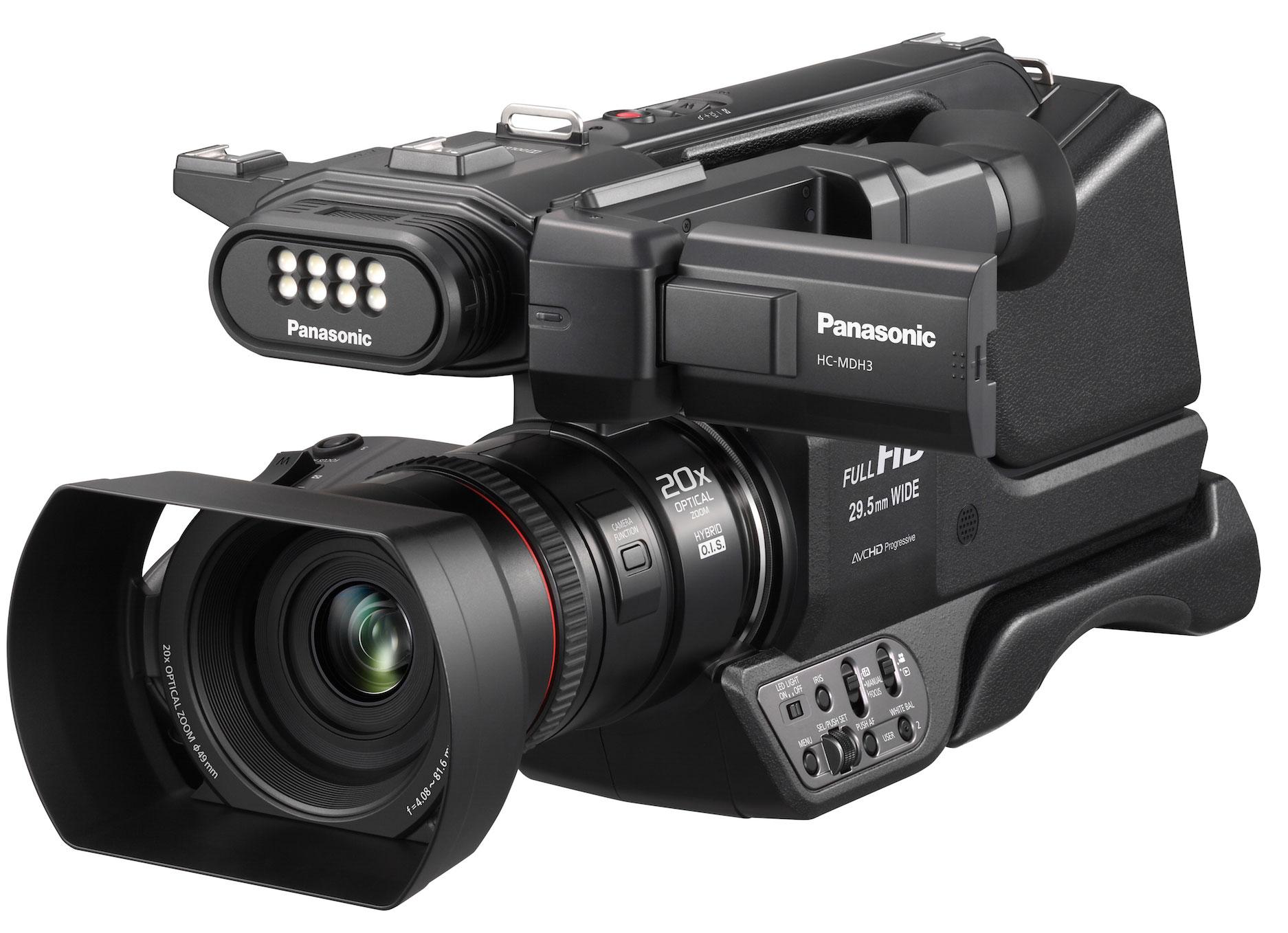 Panasonic HC-MDH3 - FullHD Shoulder Camera for 1.300 euros