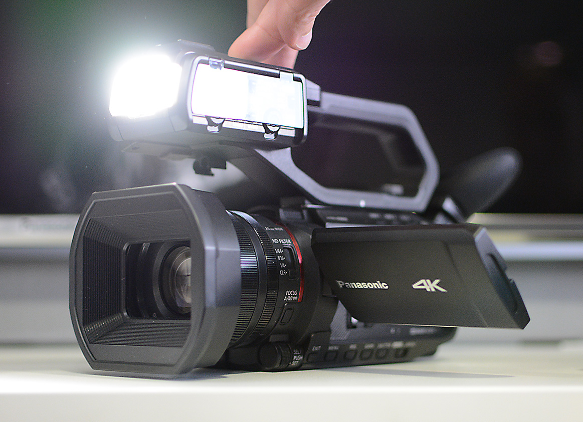 New 4K camcorders from Panasonic HC-X1500, HC-X2000 and AG-CX10
