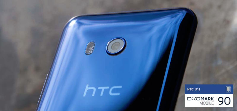 New HTC U11 smartphone with top marks for photo and video