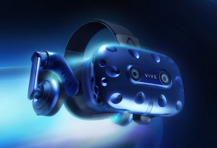 HTC announces Vive Pro VR/360° Headset with higher resolution