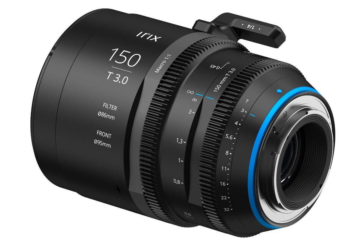 New Cine-optics player: IRIX 150mm T 3.0 macro 1:1 lens to come