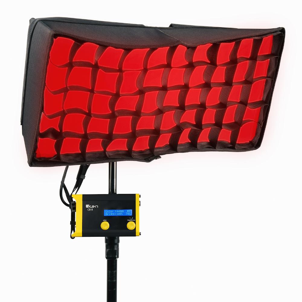 Ikan Canvas CC8: Biegbares LED RGBWA Panel