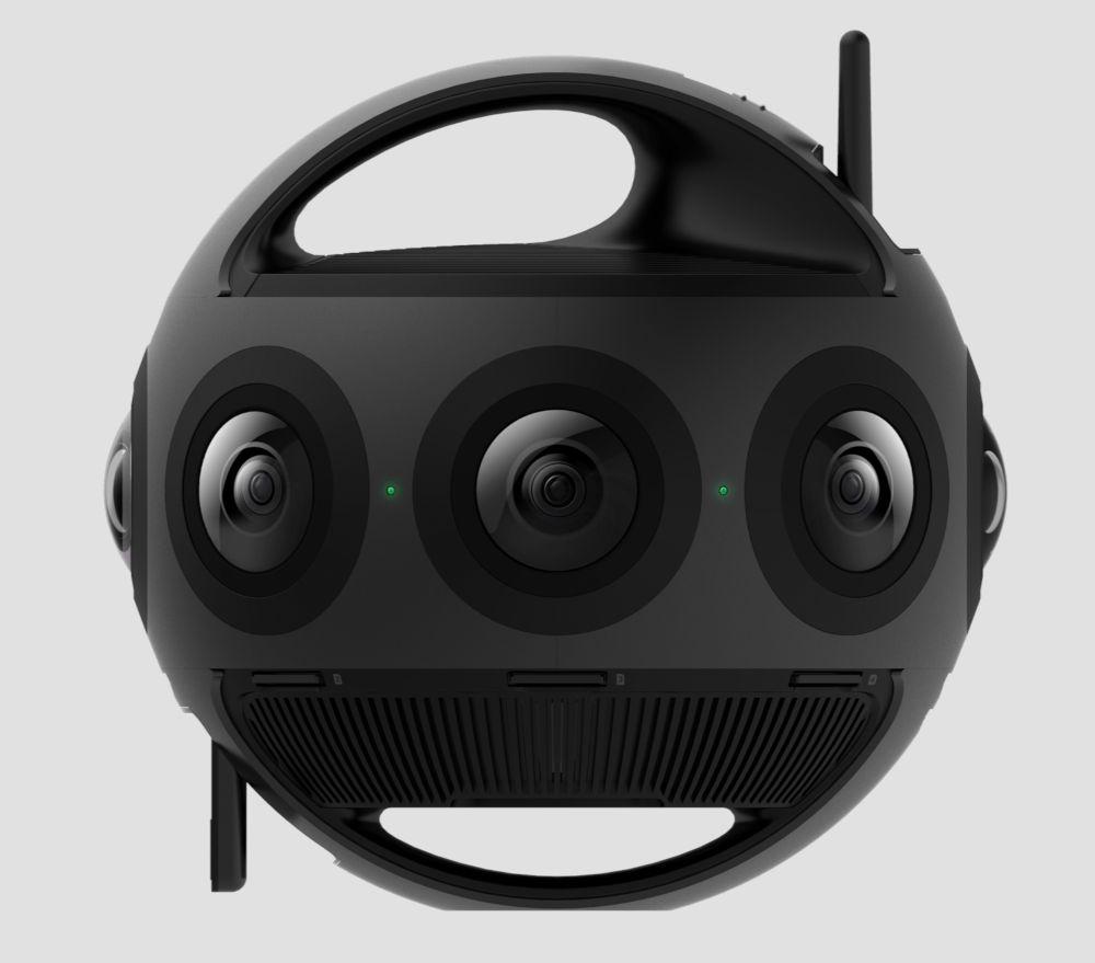 Insta360 Titan -- professional 11K VR-camera features 8 MFT-sensors // CES 2019