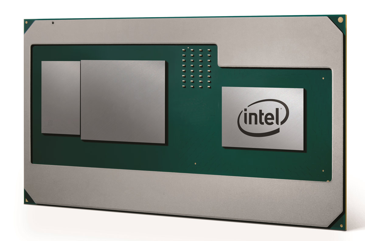 Intel's next CPU comes with an integrated AMD graphics unit!