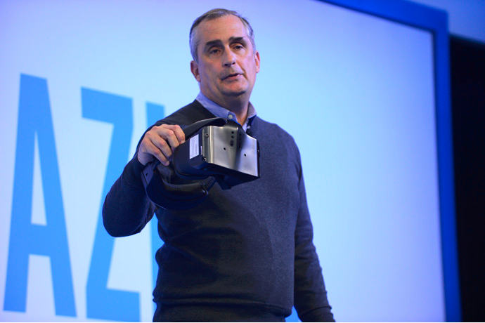 Intel impressed with walk-VR video recording 3GB per frame // CES 2017