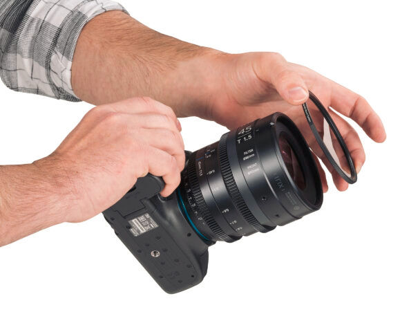 Magnetic mount filters available for Irix cine lenses