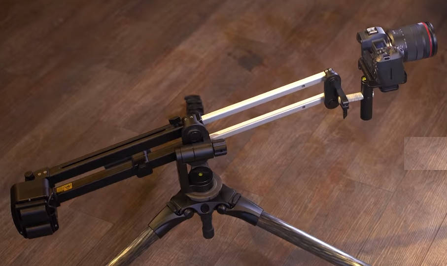 New noble crown JibONE Mini-Jib-Arm for automated camera movements and pans