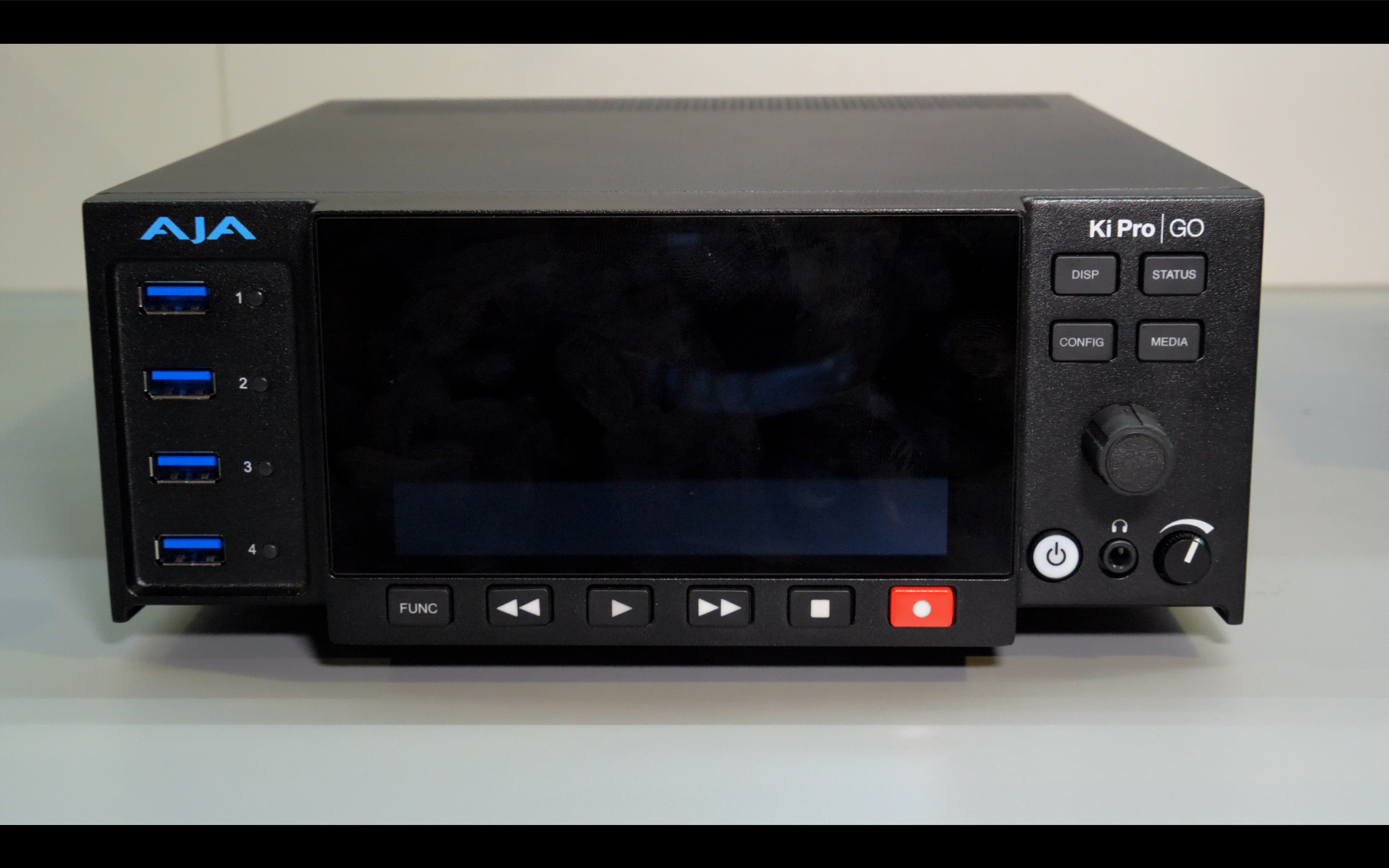 NAB Video: AJA Ki Pro GO -Multi Channel H.264 USB Recorder-Player // NAB 2019