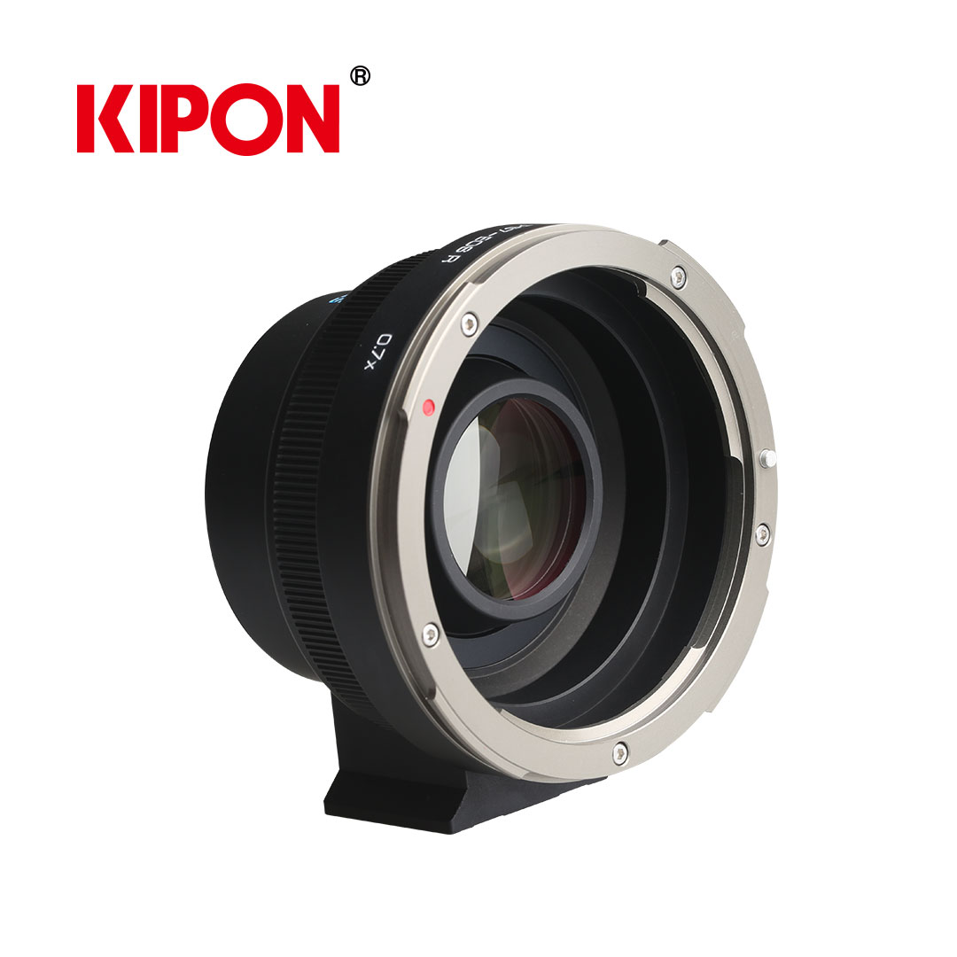 Kipon: Medium format on full format