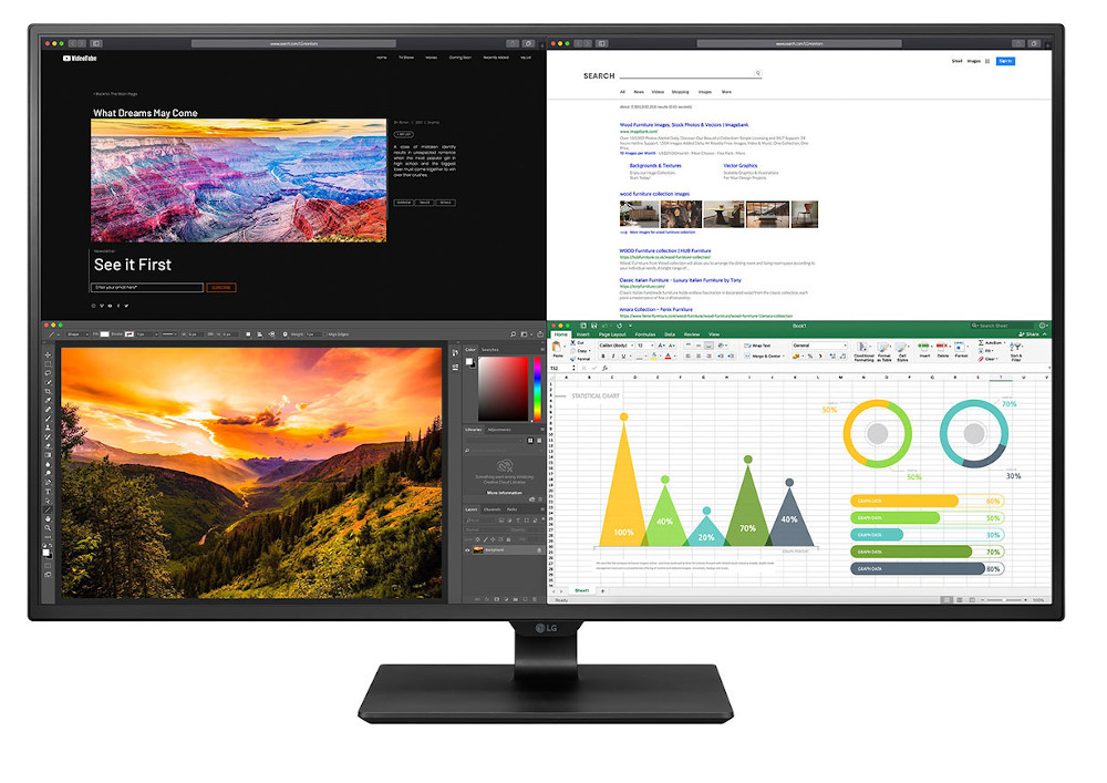 Twelve new business monitors from LG from 27 to 43 inches