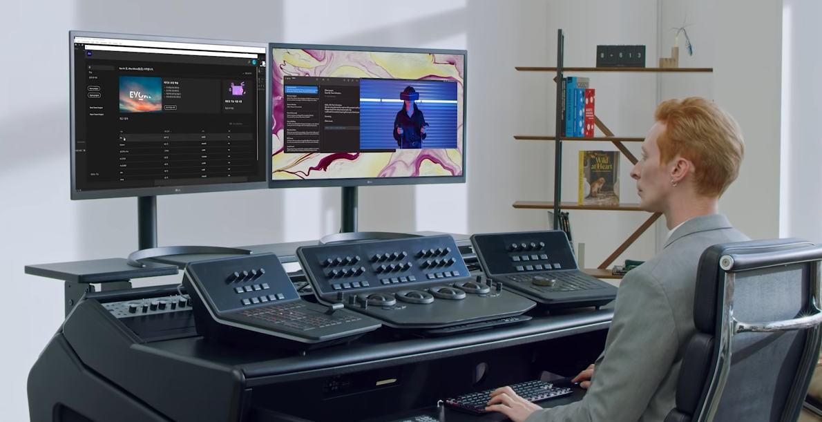 LG UltraFine OLED Pro 32