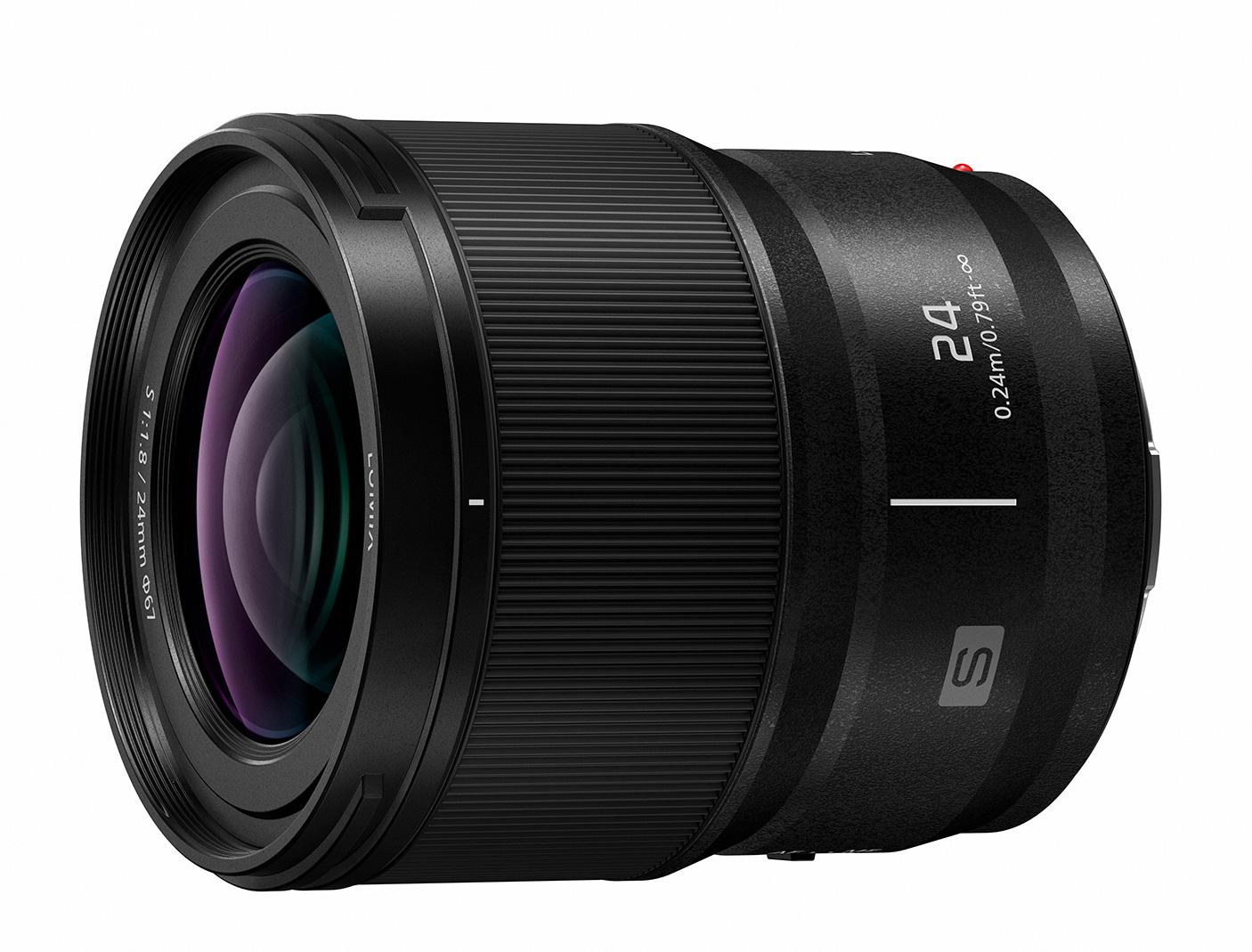 Third full-frame prime for L-mount - Panasonic LUMIX S 24mm F1.8