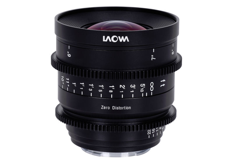 Three new super wide angle cine lenses coming from Laowa vorgestellt