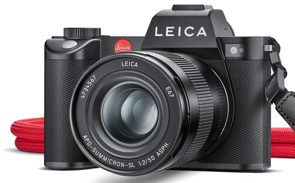 Leica SL2: Professional full-frame system camera with sensor stabilization and 5K video recording
