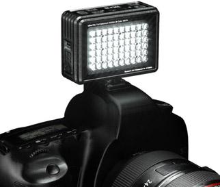 LitraPro: the world's first LED Bi-Color Full Spectrum camera light