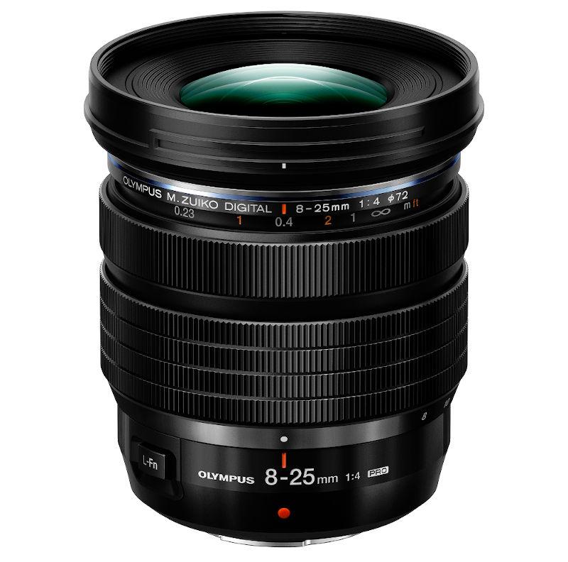 Olympus announces M.Zuiko Digital ED 8-25 mm F4.0 PRO