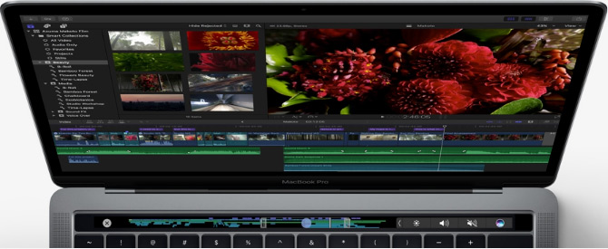 Slashcam News : New MacBook Pro: OLED Touch Bar and only ...