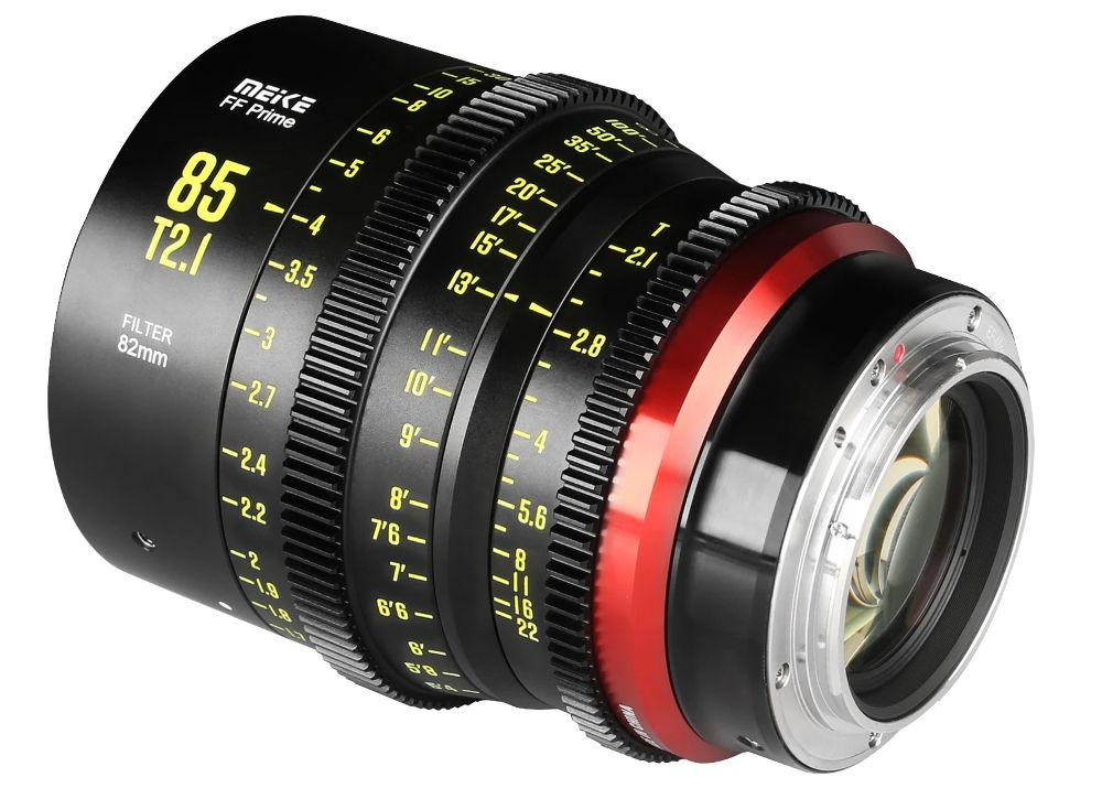 Meike adds 85mm T2.1 lens to fullframe cine line-up