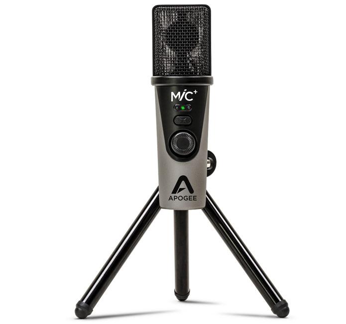 Apogee MiC Plus: USB microphone with headphone output
