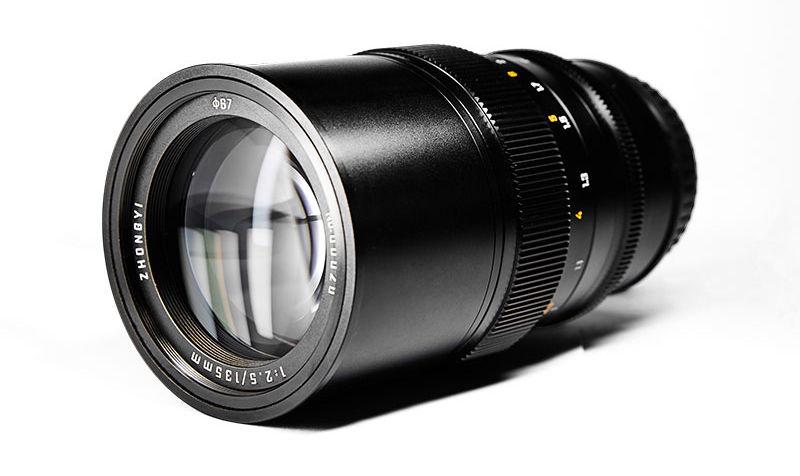 Mitakon Creator 135mm f/2.5 with new optical design